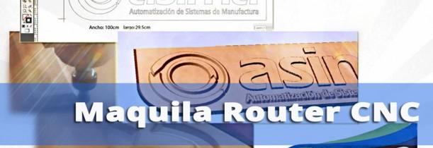 Proceso de Maquila CNC